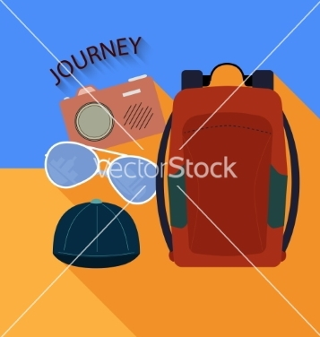 Free things to travel vector - Free vector #236365