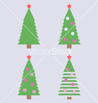 Free christmas tree simple vector - Free vector #236385