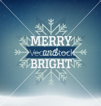 Free merry christmas card vector - бесплатный vector #236595