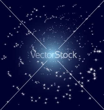 Free stars spiral galaxy vector - Free vector #236695