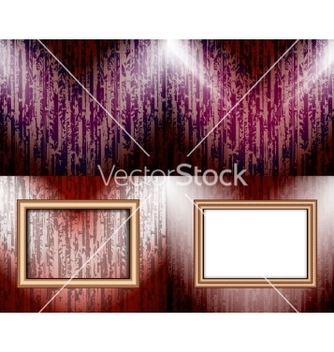 Free set of background with frames and spotlights vector - vector gratuit #236755