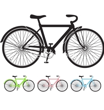 Free bicycle vector - Free vector #237095