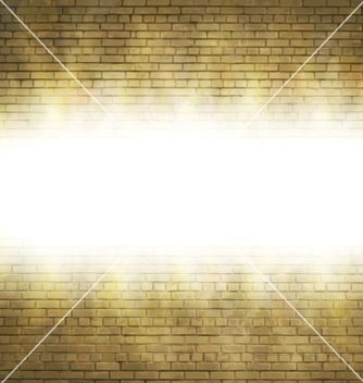 Free abstract brick background blurry light effects vector - Free vector #237195