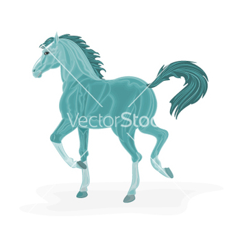 Free bluehorse vector - Free vector #237425