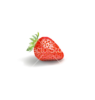 Free strawberry graphics vector - vector gratuit #237475
