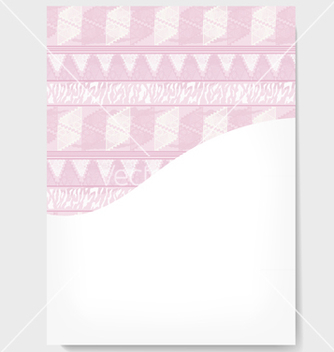 Free printable invitation in the african style vector - vector #237615 gratis