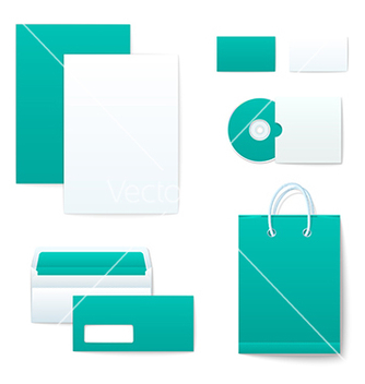 Free corporate identity templates vector - бесплатный vector #237645