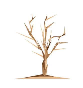 Free origami tree vector - Free vector #237845