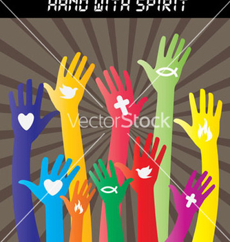 Free hand sign collections vector - Free vector #237855