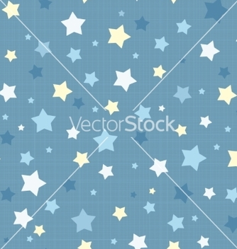 Free seamless stars pattern vector - Free vector #237865