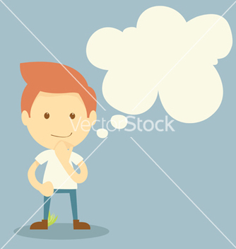 Free thinking vector - Free vector #237935