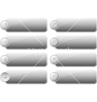 Free set of internet buttons vector - vector gratuit #237945