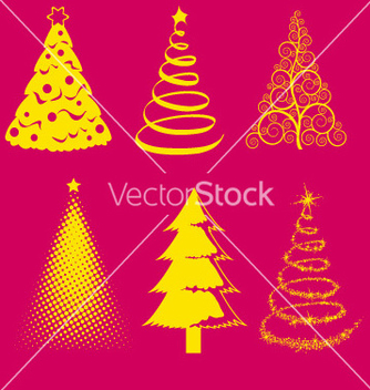 Free christmas tree 4 vector - Free vector #238005