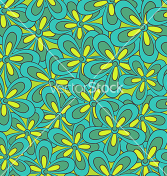 Free abstract seamless floral pattern vector - Kostenloses vector #238655
