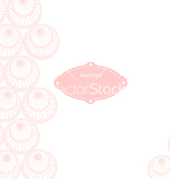 Free wedding card vector - бесплатный vector #238995