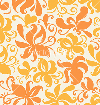 Free colored floral pattern vector - vector gratuit #239215
