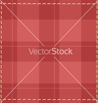 Free red checkered background with stitches vector - бесплатный vector #239405