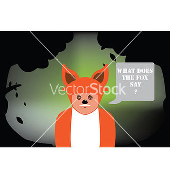 Free fox costume vector - Free vector #239475