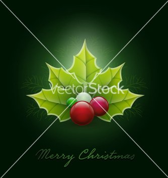 Free christmas card vector - бесплатный vector #239535