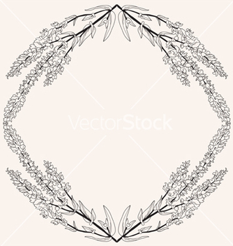 Free floral frame vector - Kostenloses vector #239805