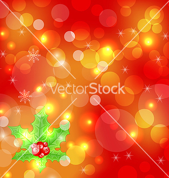 Free christmas holiday wallpaper with decoration vector - Free vector #239855
