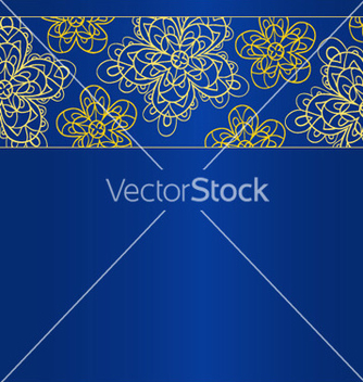 Free blue bright card template vector - Free vector #239865