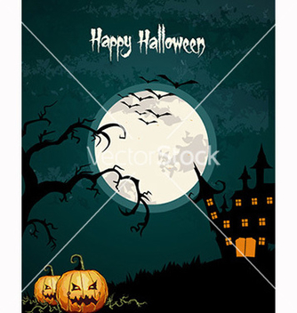 Free halloween background vector - бесплатный vector #239955