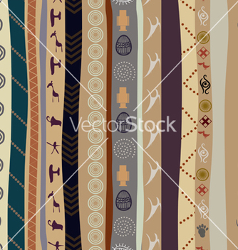 Free seamless texture with elements of the animal style vector - Kostenloses vector #239995