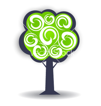 Free season tree logo design element vector - Free vector #240075