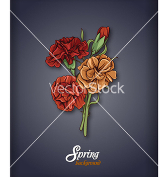 Free floral background vector - Free vector #240335