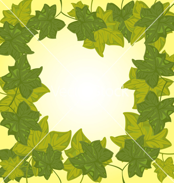 Free background from green sheet vector - бесплатный vector #240425