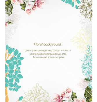 Free floral vector - Free vector #240535