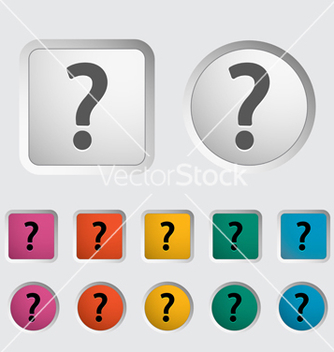 Free question mark vector - vector gratuit #240705