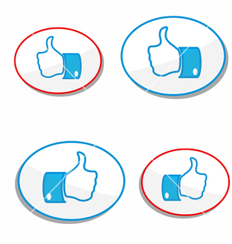 Free button vector - vector #241625 gratis