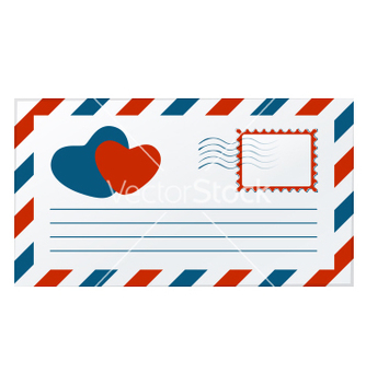 Free love letter vector - Kostenloses vector #242295
