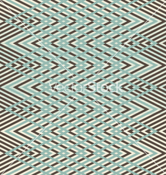 Free abstract seamless retro geometric pattern vector - бесплатный vector #242335