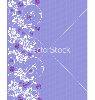 Free invitation with floral vector - Free vector #242765