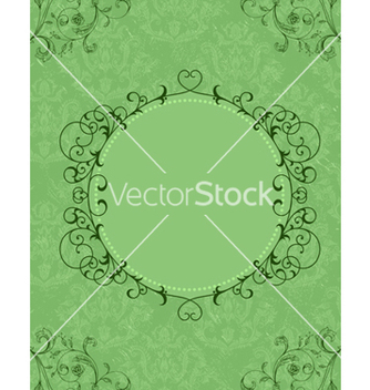 Free frame with floral vector - Free vector #242825