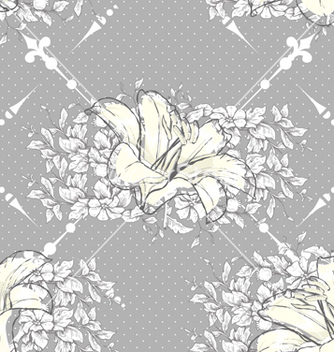 Free seamless paisley pattern vector - Free vector #242885