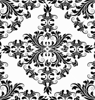 Free victorian seamless pattern vector - Kostenloses vector #242895