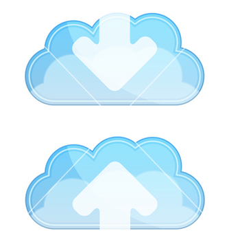 Free cloud icon vector - бесплатный vector #243465
