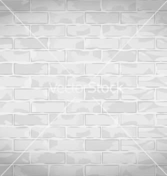Free old white brick wall vector - vector gratuit #243475
