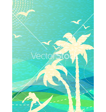 Free summer background vector - Free vector #243515