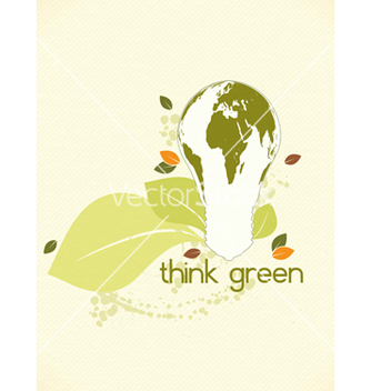 Free eco friendly design vector - Kostenloses vector #243535
