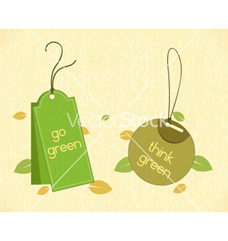 Free eco friendly labels vector - vector #243575 gratis
