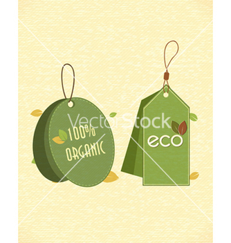 Free eco friendly labels vector - vector #243585 gratis