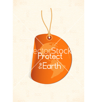 Free bio shopping tag vector - Free vector #243595