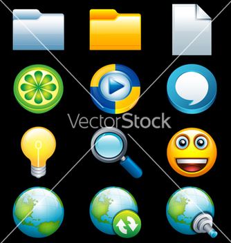 Free smooth icons vector - Free vector #243745