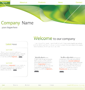 Free website vector - vector gratuit #243885
