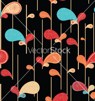 Free paisley seamless pattern vector - Free vector #243975